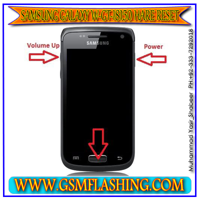 Samsung Galaxy W GT-I8150 Hard Reset And Recovery Mode