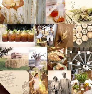 Classic Fall Country Wedding Decorations