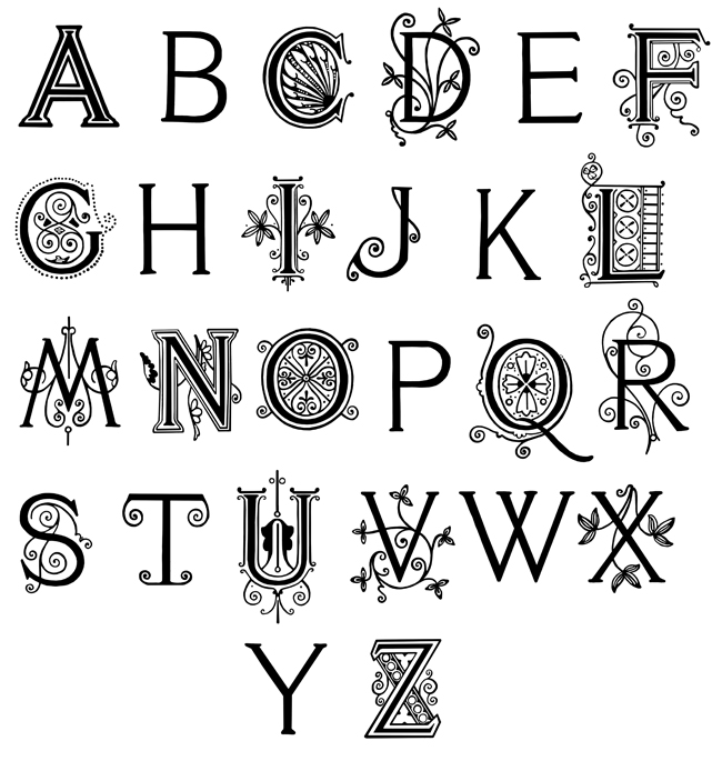 Alphabet poetry involves using the letters of the alphabet in