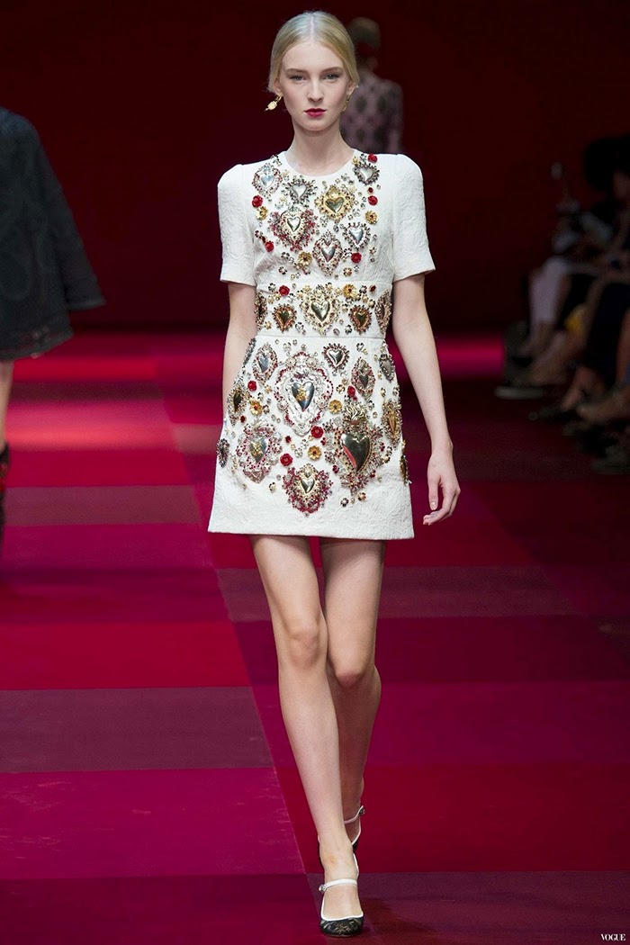 Dolce & Gabbana Ready To Wear Spring Summer 2015 Milan Part 5
