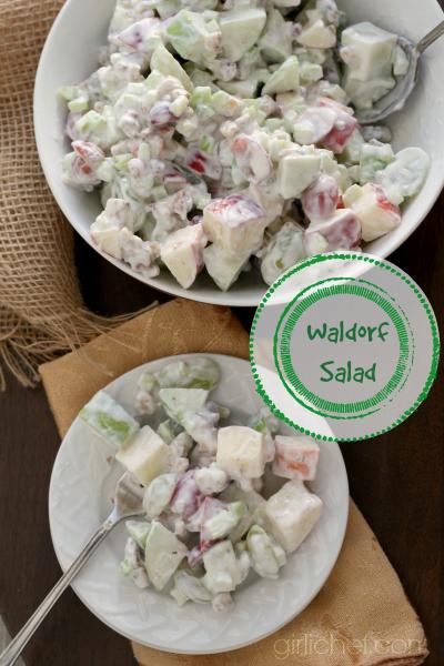 Waldorf Salad #Thanksgiving #sidedish #apples