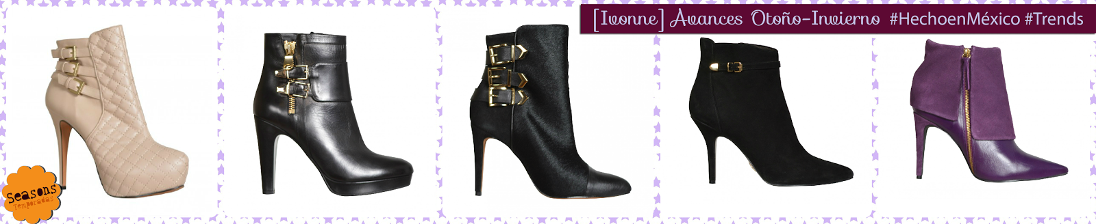 [Hecho en México] Ivonne: Calzado otoño-invierno /Shoes AW14  L-vi.com