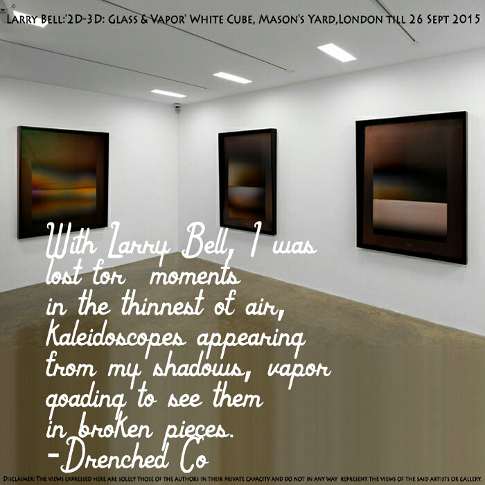Image of Whitecube gallery with exhibition review