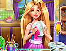 Rapunzel Dish Washing Realife