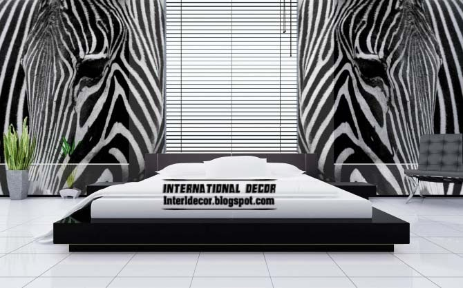 The best zebra print decor ideas for interior designs for Zebra print bedroom ideas