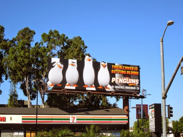 Penguins of Madagascar billboard