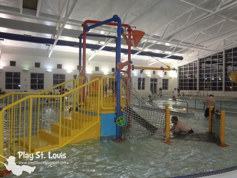 Play St Louis Ballwin Pointe Indoor Pool Ballwin