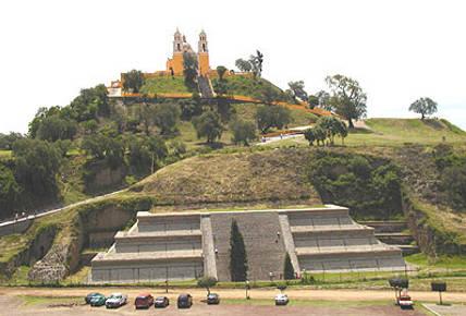 La pirámide de Cholula Puebla