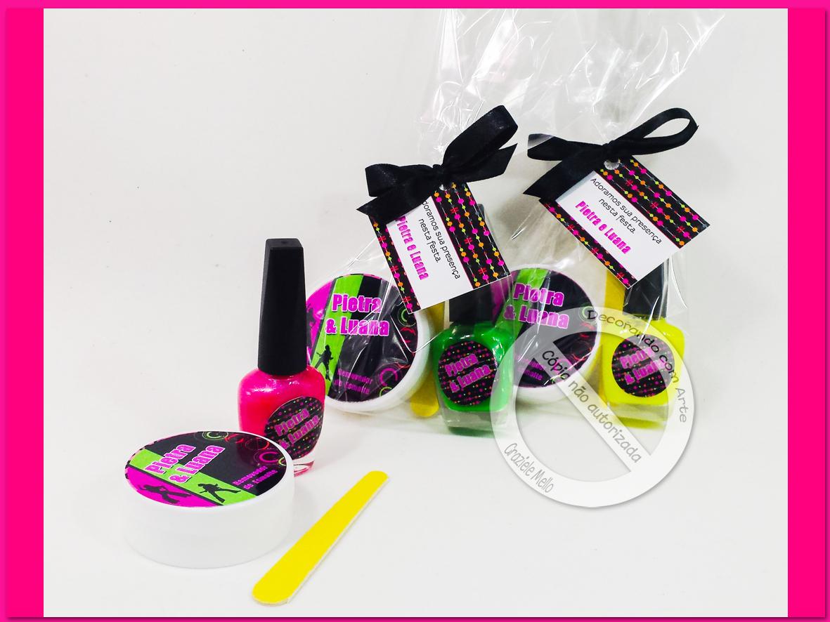 decoracao festa neon: com Arte – Lembrancinhas Personalizadas: Festa Neon, Baladinha