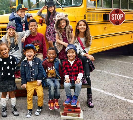 ropa niños H&M otoño invierno 2014 2015