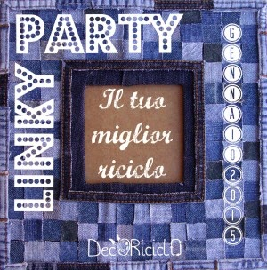 ho partecipato al Link Party 2015 Decoriciclo