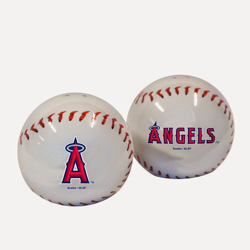 Los Angeles Angels MLB Salt & Pepper Shaker Set
