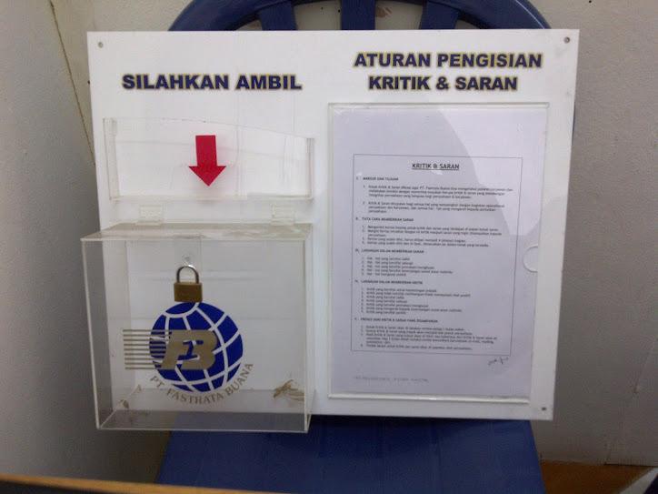 kotak saran dan peraturan sablon logo