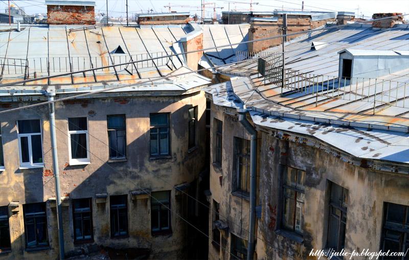 Санкт-Петербург, крыши Питера, крыши Петербурга, МПВО