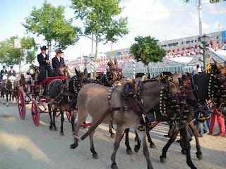 Feria de Sevilla 2011 - Coches de caballos