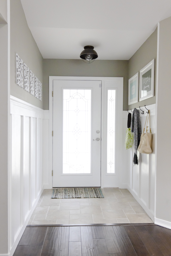 Narrow Foyer Entry : It s a grandville life narrow front entryway ideas