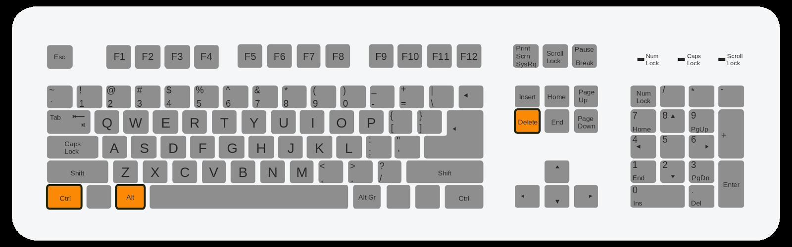 Где на клавиатуре находится альт