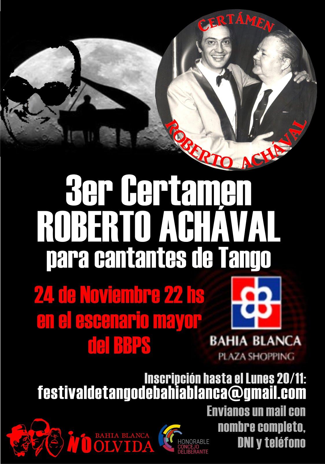 3° CERTAMEN ROBERTO ACHÁVAL