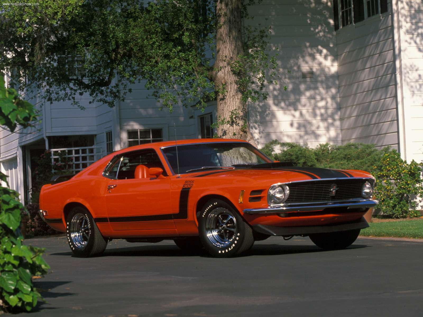 1970 ford mustang boss 302 wallpapers car wallpapers. Black Bedroom Furniture Sets. Home Design Ideas