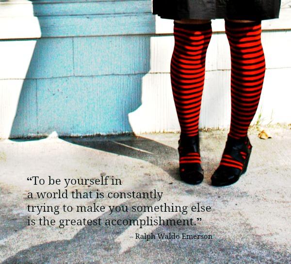 Be Yourself, Waldo