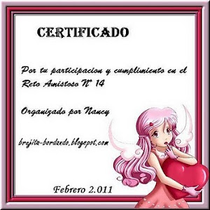 CERTIFICADO RETO No.14