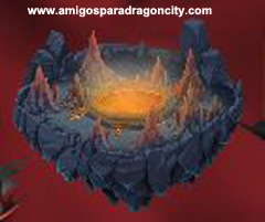 imagen del premio del primer segmento de la isla calabozo de dragon city