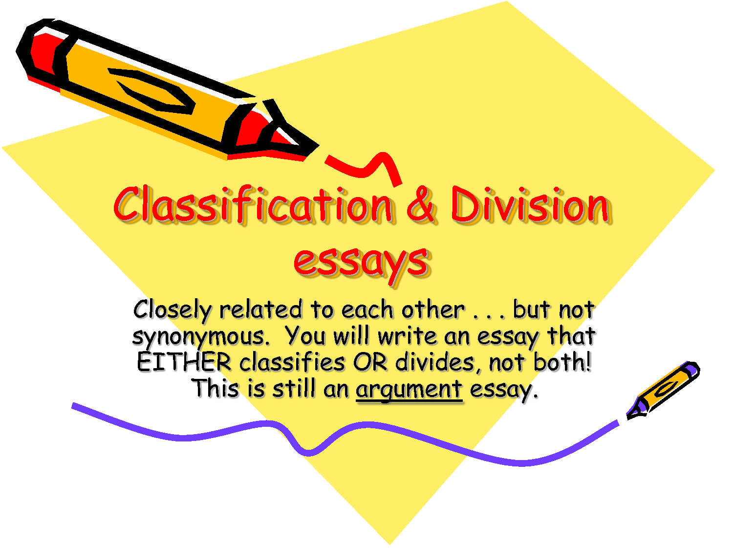 classification essay drivers conclusion