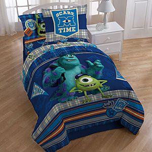 Epic Monsters University Scare Care Comforter Set by Jay Franco MSRP Bedtime promises tons of freaky fun with this Disney Pixar Monsters