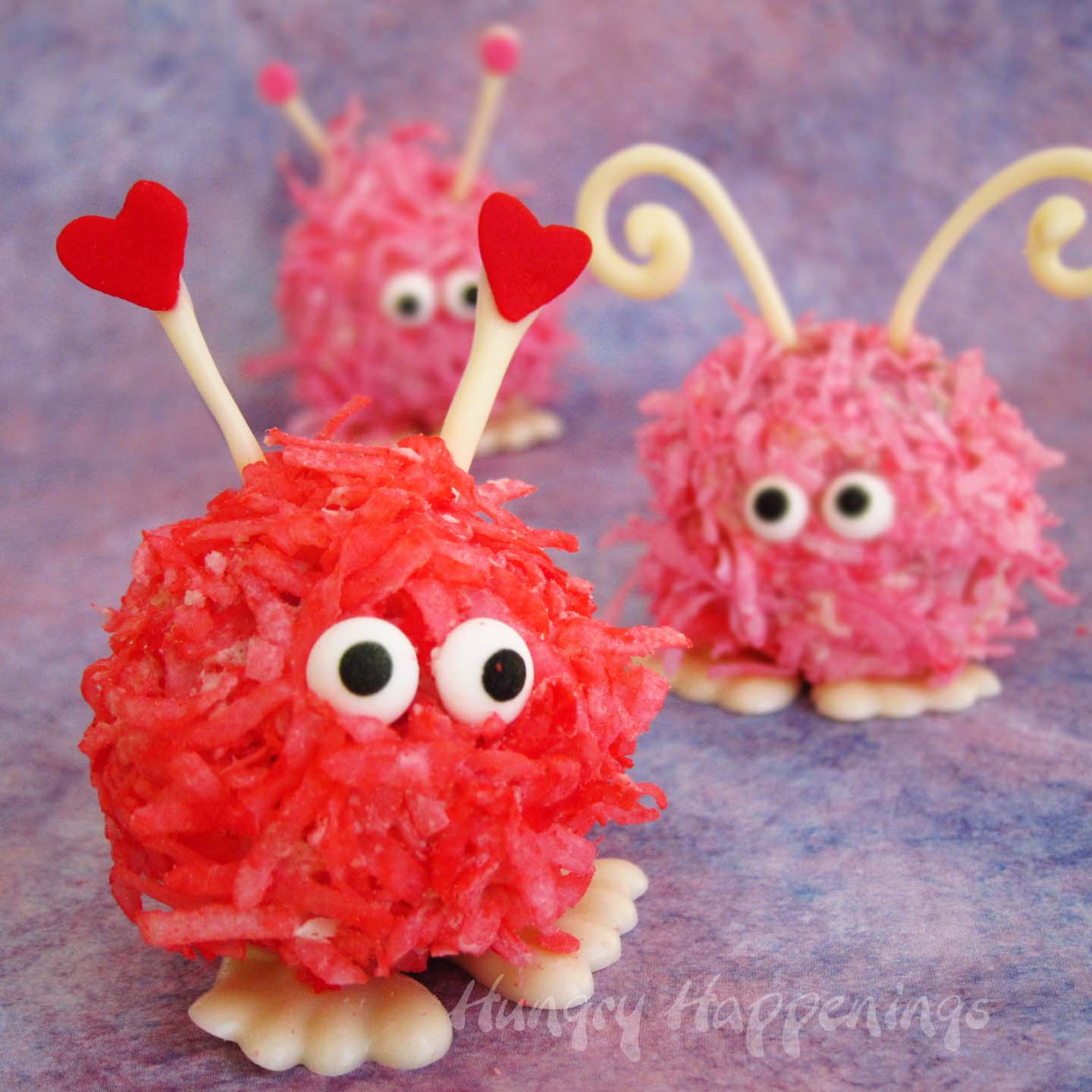 Warm Fuzzy Cake Balls And Cupcakes Valentine S Day Recipes Hungry