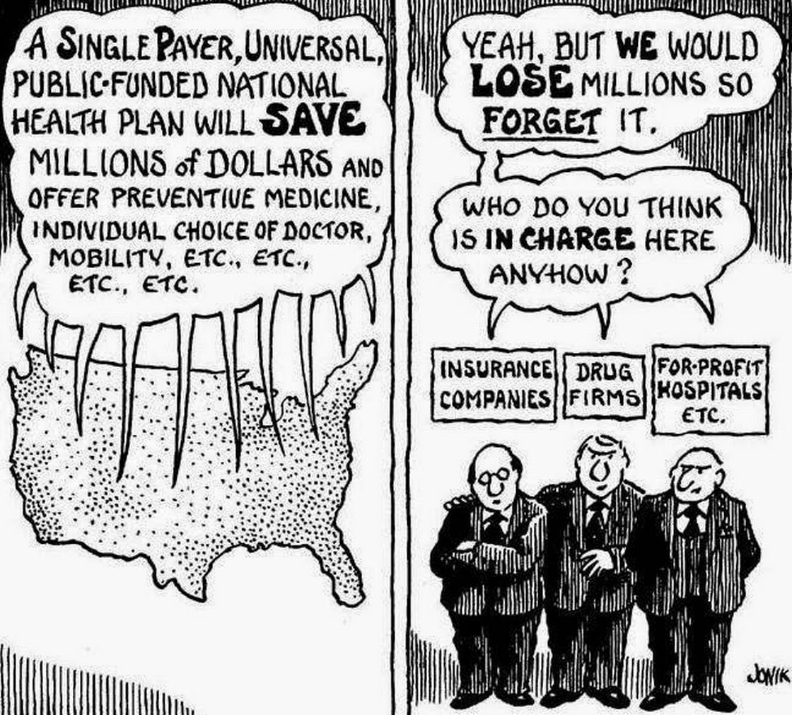 single payer healthcare You do know there's a slow and steady push to implement a single-payer healthcare system in washington state by 2020, yes if not, then please let me catch you up in several sentences on this lovely spring afternoon none of the single-payer bills made it out of committee in the last legislative session in.