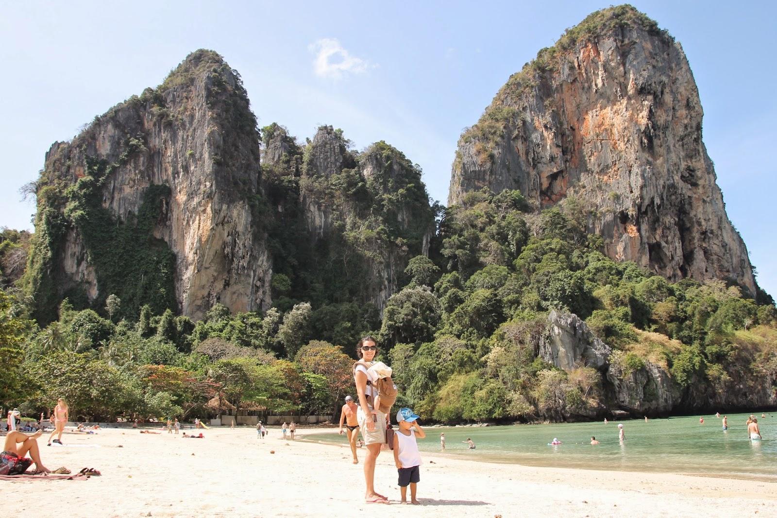 Raylay ou Rayley está entre as melhores praias da Tailândia