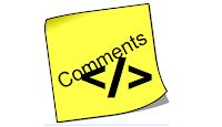 Cara Menulis Element Terlarang di Kotak Komentar Blog