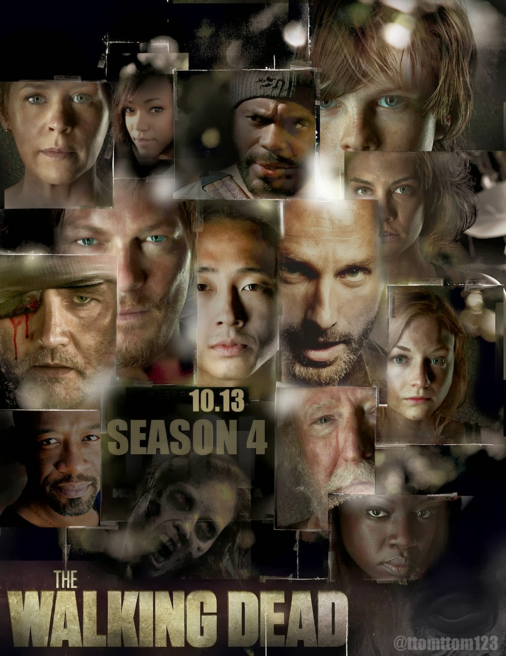 Download - The Walking Dead S04E13 - HDTV + RMVB Legendado