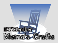 I design for Mema's Crafts!
