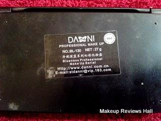 Danni Professional Makeup Review