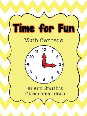 Fern Smith's Classroom Ideas Time For Fun Math Centers