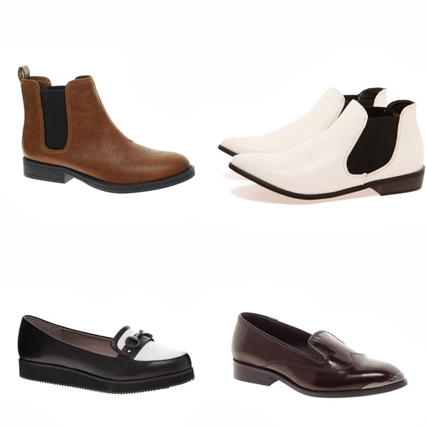 androgynous women shoes