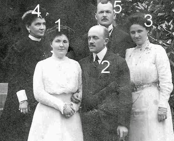Erbach-Schönberg et Stolberg-Wernigerode en 1909