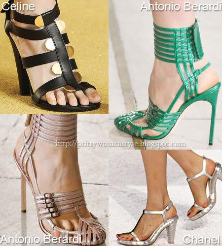 Плетени обувки и сандали