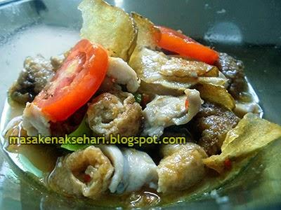 Resep Seblak Ayam Fillet Pedas Spesial