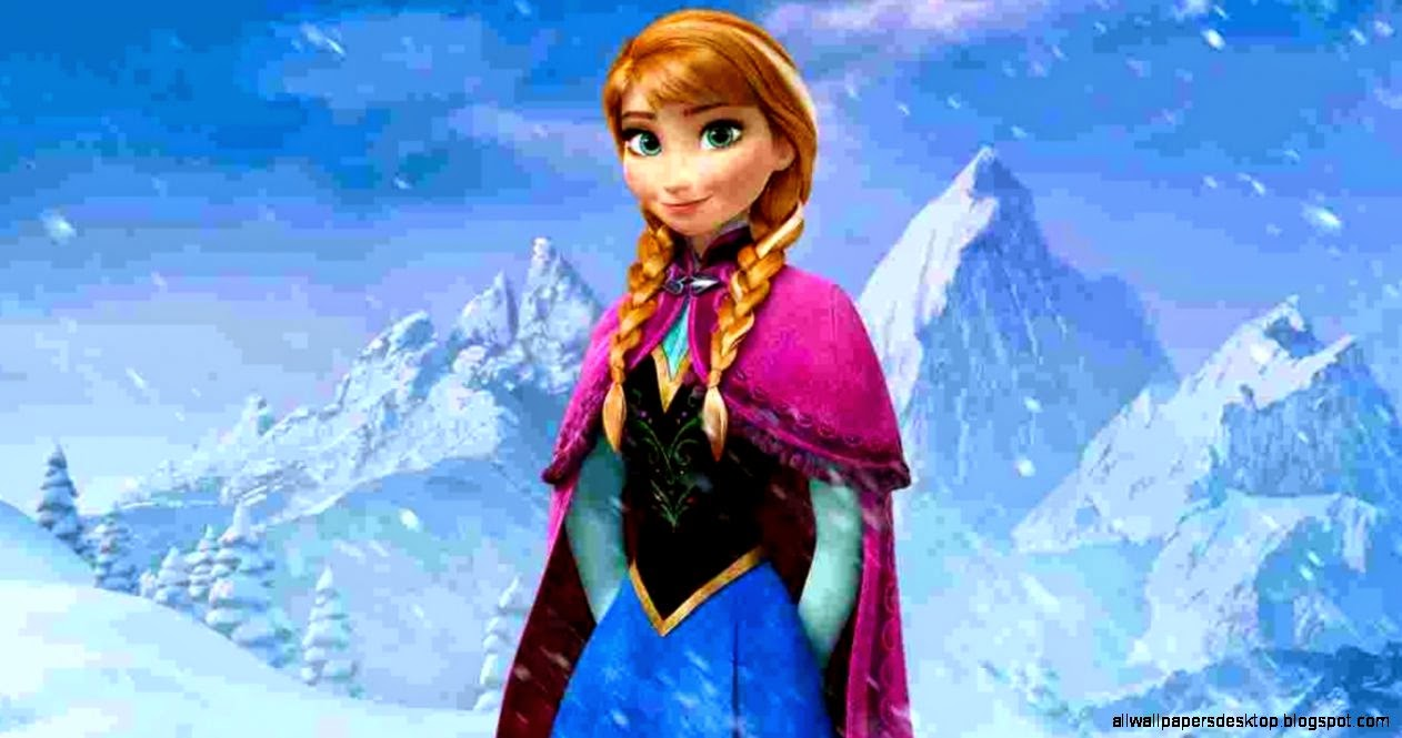 Anna In Frozen Hd Wallpaper All Wallpapers Desktop