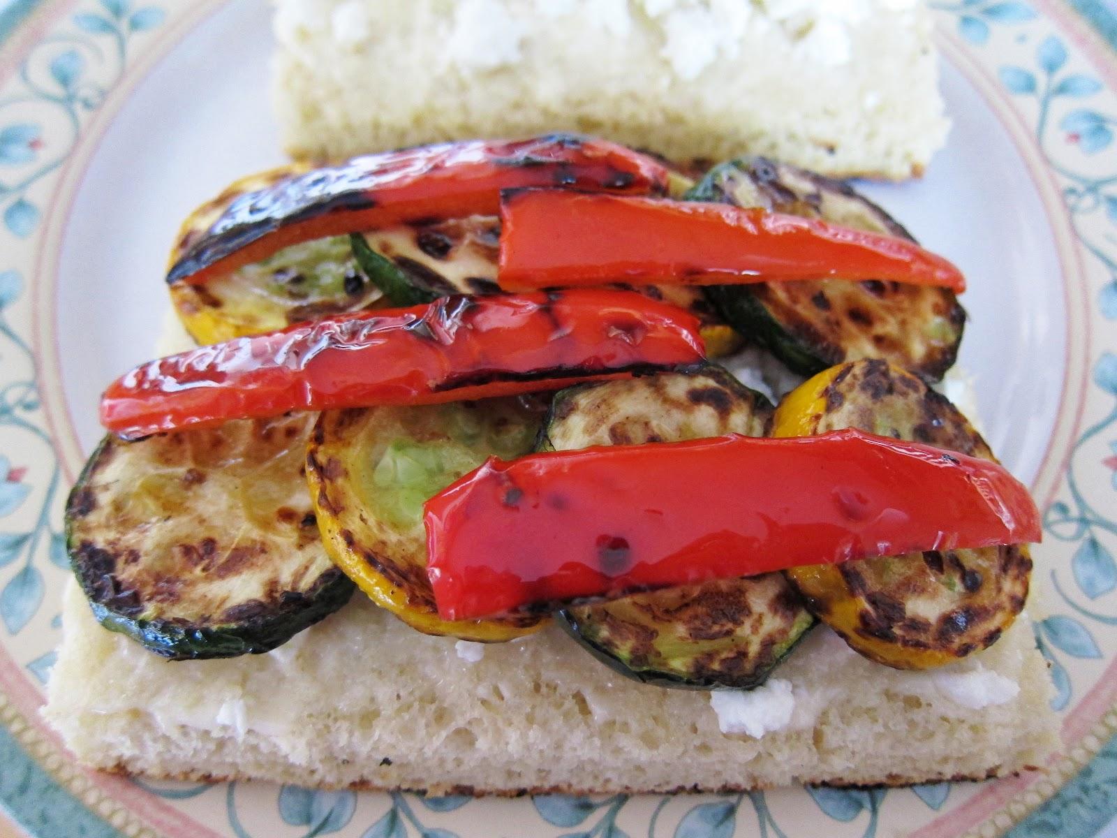 Bloatal Recall: California Grilled Veggie Sandwich