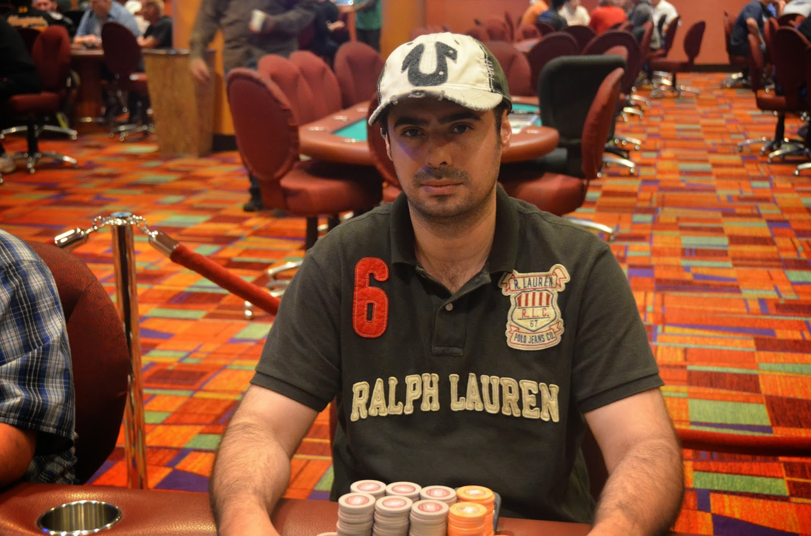 Parx big stax iv big stax 300 day 3 9th place kalantarov 3 844 for Parx poker room live game report