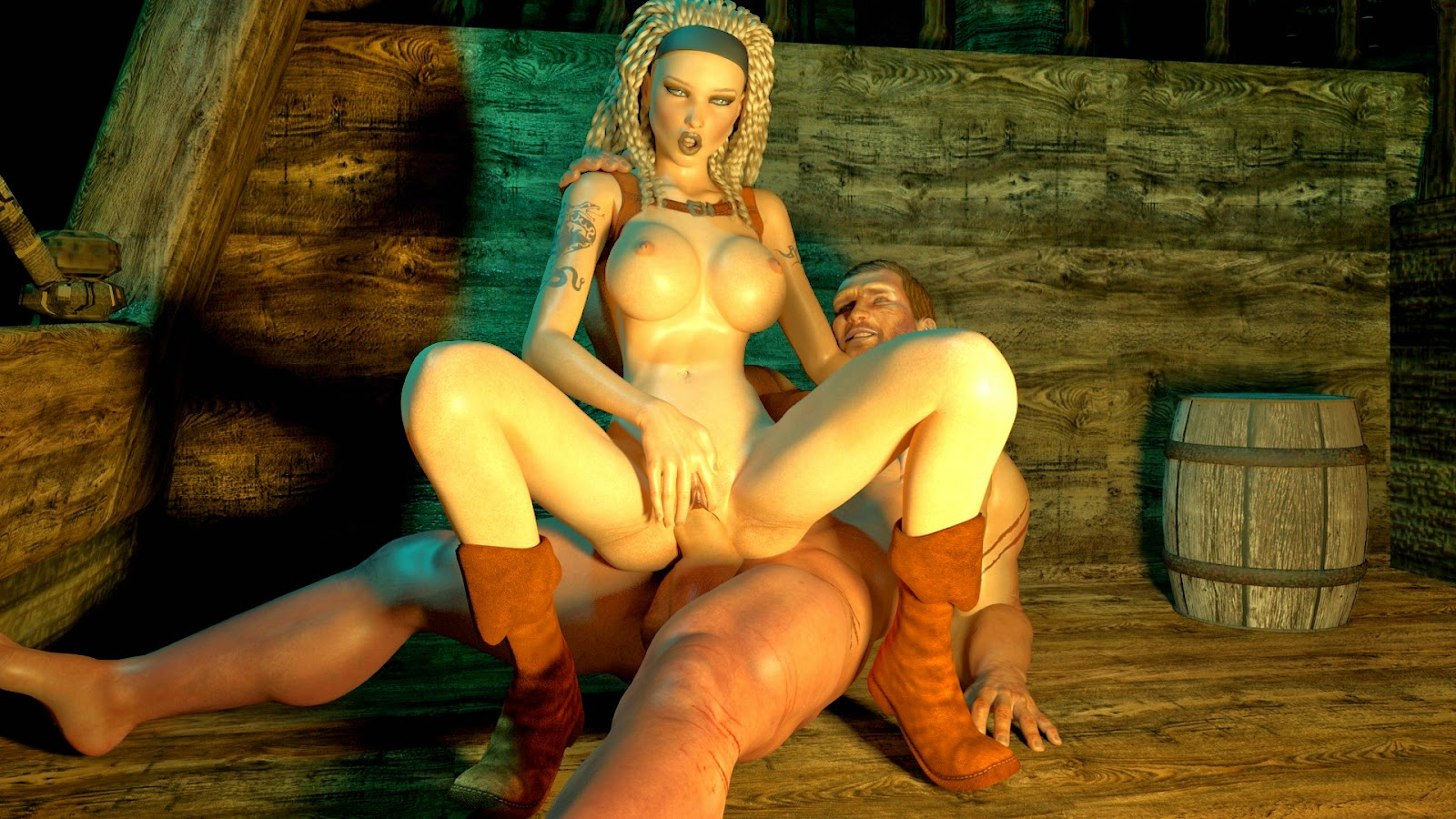 Naked women in online games play free hentai photo