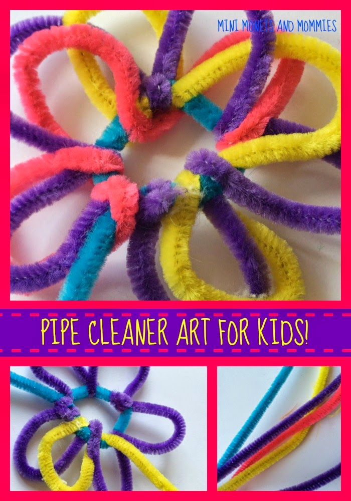 Mini monets and mommies kids spring flower craft with pipe cleaners spring flower crafts for kids dont have to be complicated a few weeks ago i bought a jumbo pack of pipe cleaners what to do with all of those colorful mightylinksfo Choice Image