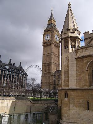 El Big Ben y el Parlamento de Londres