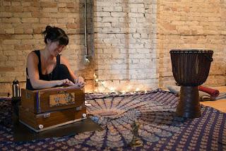 Adrienne Shum, prairie love festival, kirtan, bhakti yoga, Aum, OM, Yoga, Prairie Yogi,