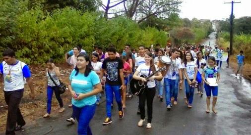 JM da Diocese de Tocantinópolis celebra o V EDJAM