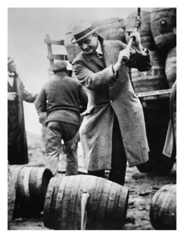 Disposing of Alcohol During Prohibition, 1930s ~ vintage ...