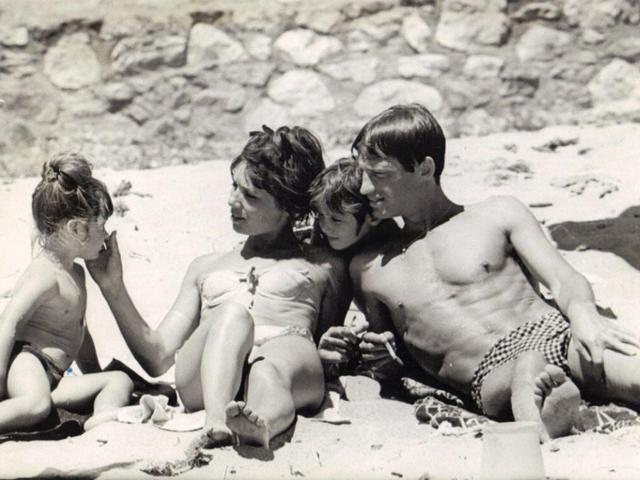 Belmondo plage en famille